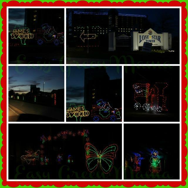 Texas Motor Speedway Lights