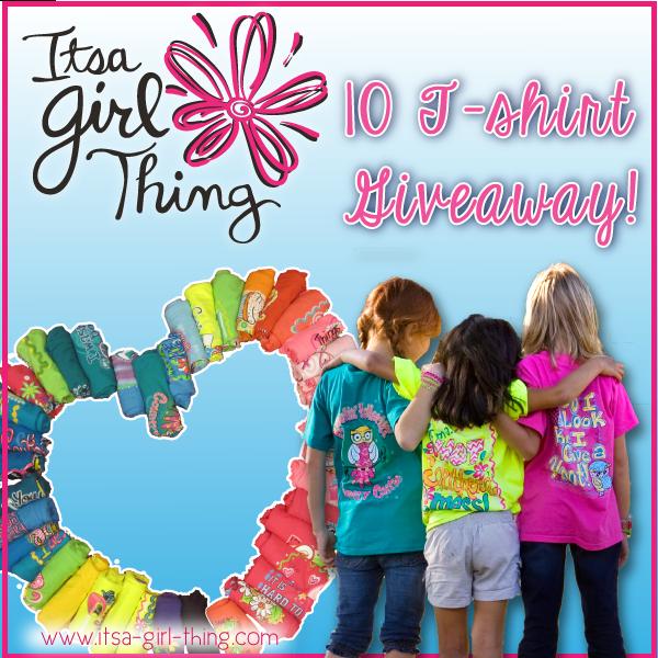 Itsa Girl Thing T-Shirt Giveaway! 10 Winners!