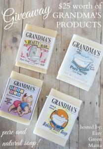 Giveaway Grandma's Lye Soap!