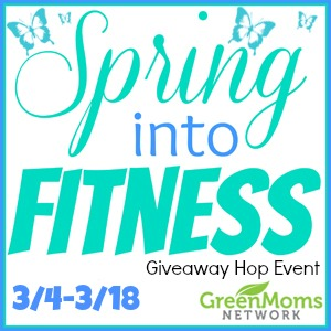 Blogger Signups Open for the Spring Into Fitness Giveaway Hop