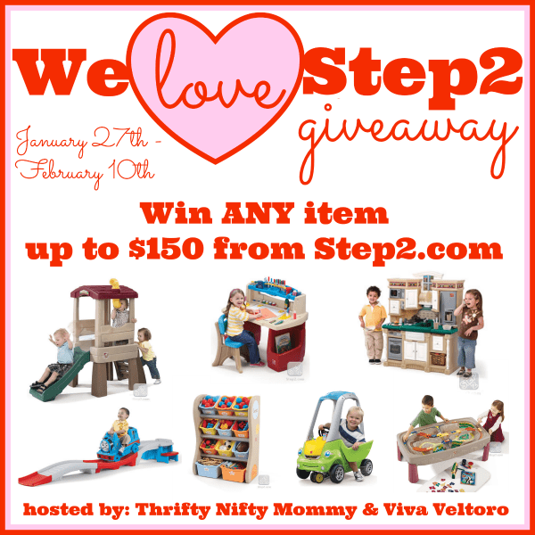 We Love Step2 Giveaway