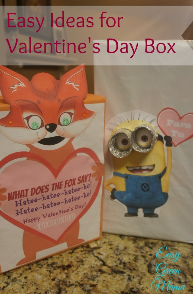 Easy Ideas for Valentine's Day Box from rays of bliss