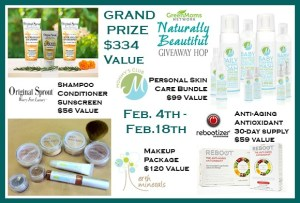 Naturally Beautiful Giveaway Hop Grand Prize