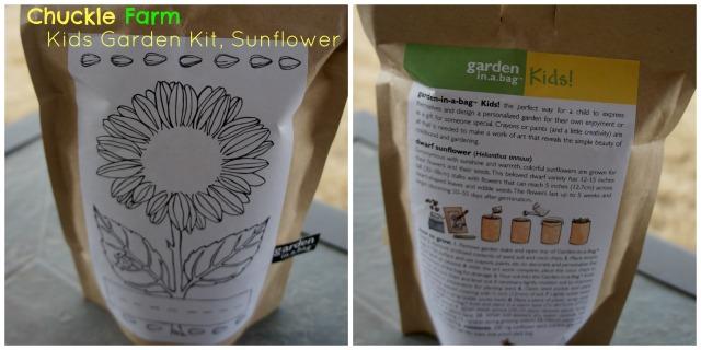 Kids Garden Kit, Sunflower