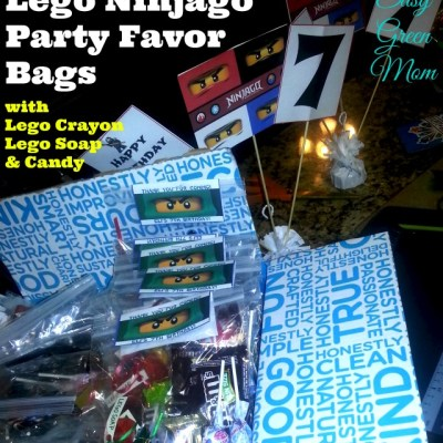 Lego Ninjago Party Favor Ideas