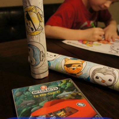 Octonauts DVD – Octonauts: To the Gup-X Review + Octonauts Ocean Sound Stick Craft