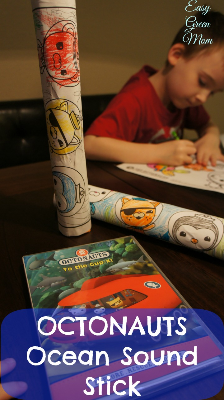 Octonauts Ocean Sound Stick Craft