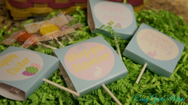 Free Printable Easter Lollipop Covers from rays of bliss.