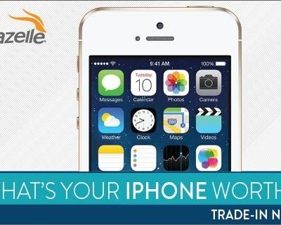 Gazelle Exclusive: Extra $20 on iPhone 4/4S trade-ins!