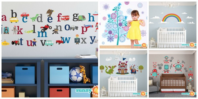 Sunny Decals Collage