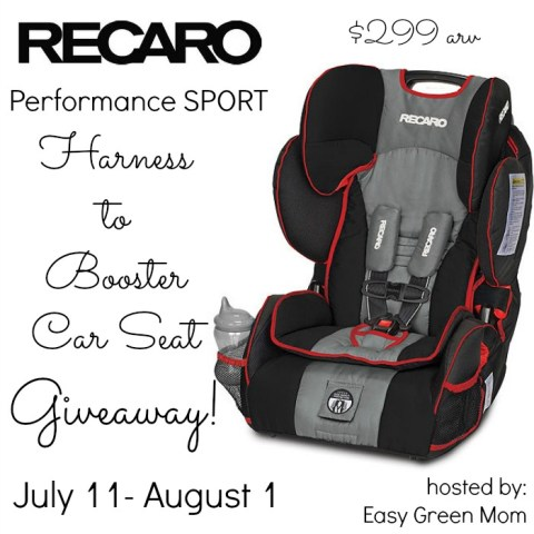 RECARO Performance SPORT giveaway