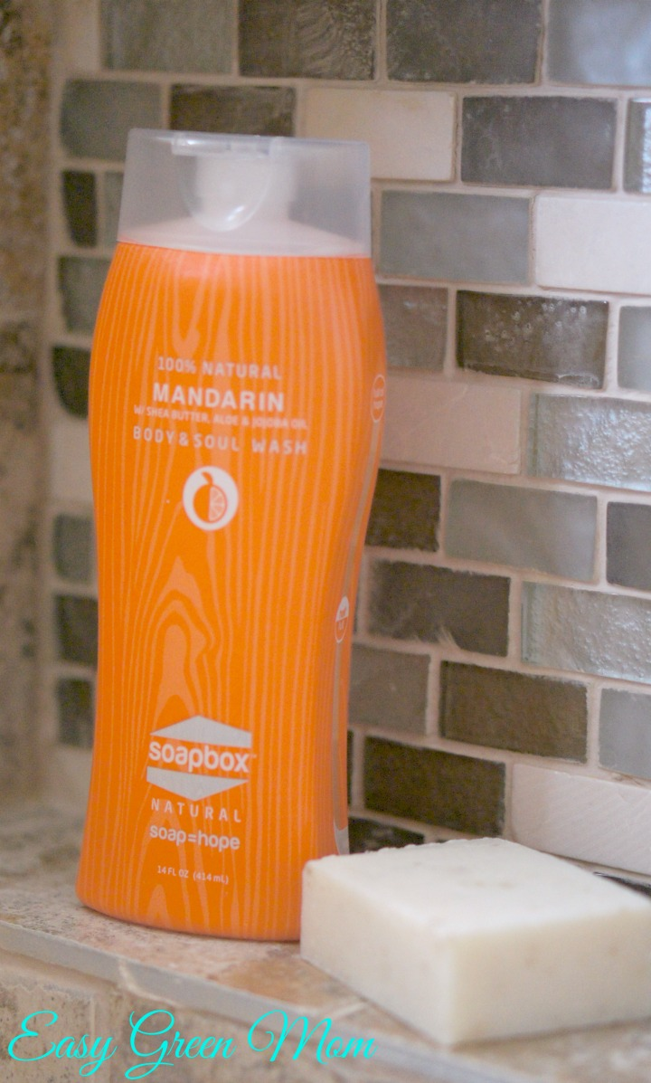 SoapBox Soap in the shower