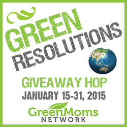 Sign Up for the Green Resolutions Giveaway Hop