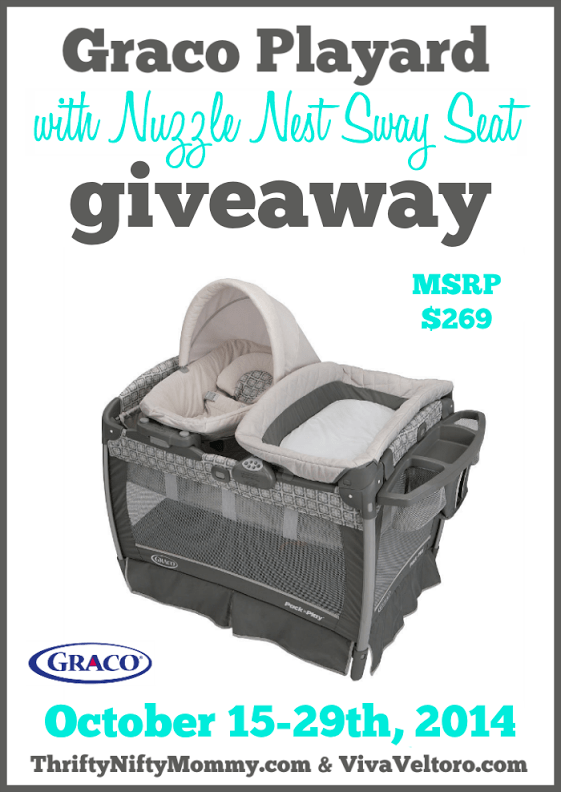 Graco Playard Giveaway