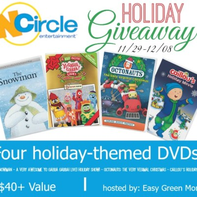 Four Holiday Themed DVDs from NCircle Entertainment
