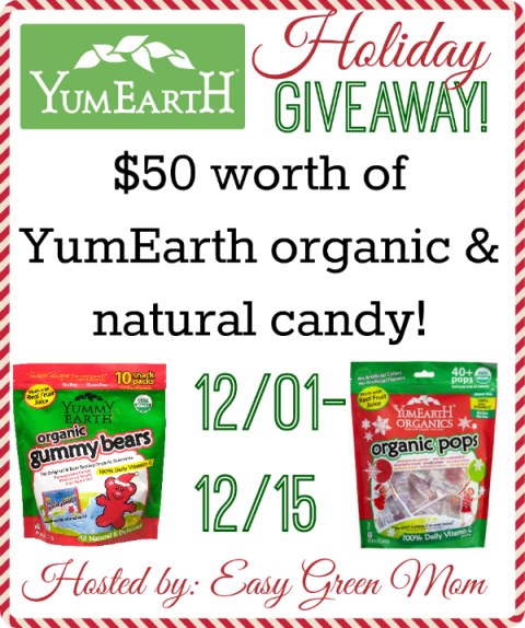 YumEarth Holiday Giveaway Event