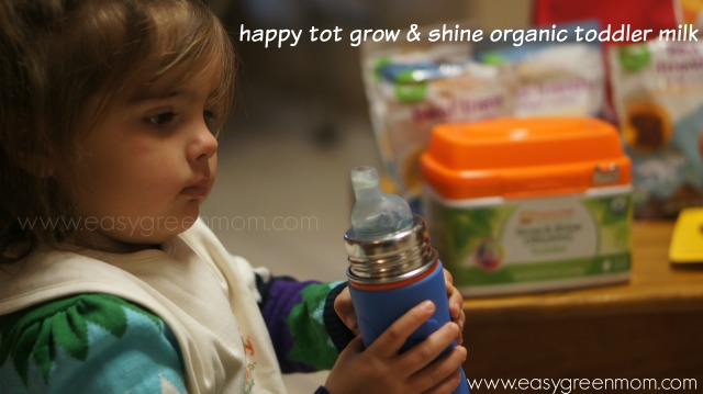 happy tot grow & shine organic toddler milk