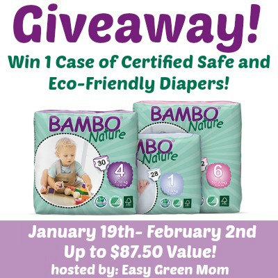 Free Blogger Opp Sign-up: Bambo Nature Eco-Friendly Diapers Giveaway Event