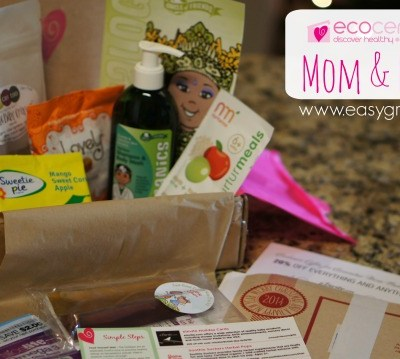 Ecocentric Mom & Baby Subscription Box ~ December 2014