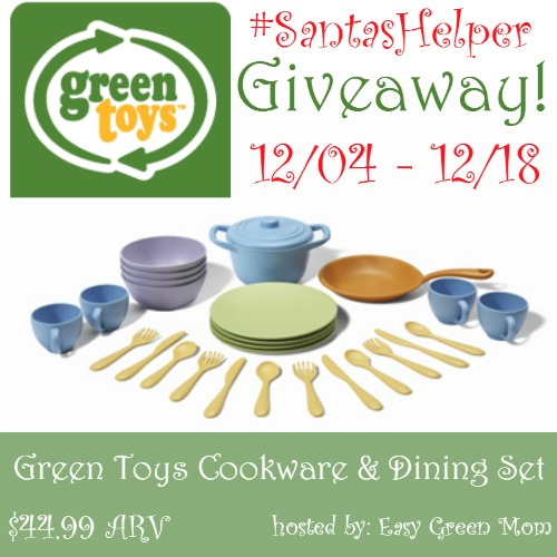 Green Toys Cookware & Dining Set Giveaway