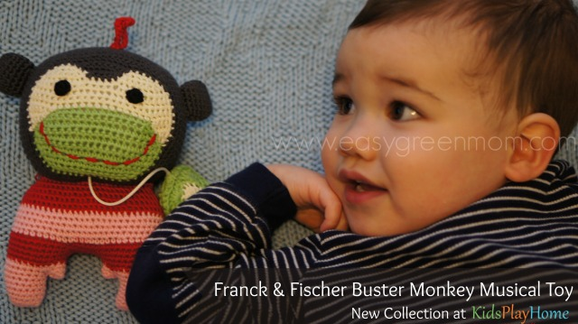 KidsPlayHome New Collection from Franck & Fischer ~ Buster Monkey Review + Giveaway