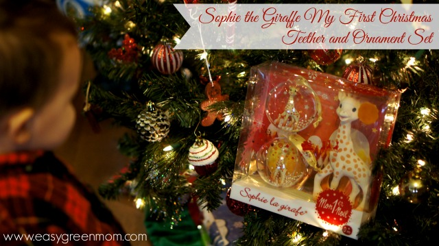 Sophie the Giraffe My First Christmas Teether and Ornament Set