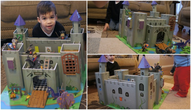 Eco Toys from Krooom ~ Arthur Knights Castle Playset