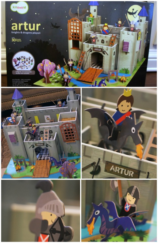 Eco Toys from Krooom ~ Arthur Knights Castle Playset Review