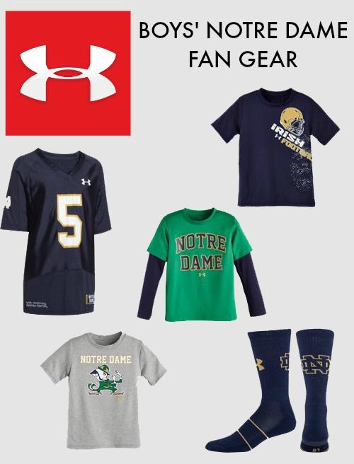 UA Notre Dame Fan Gear