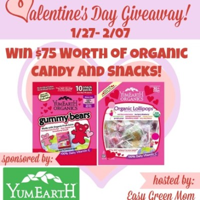 Blogger Sign Up: $75 YumEarth Valentine's Day Giveaway Event