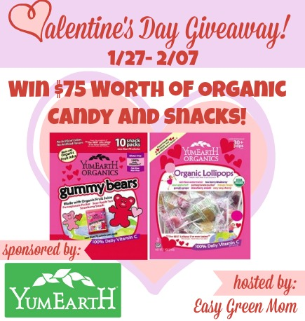 YumEarth Valentine's Day Giveaway