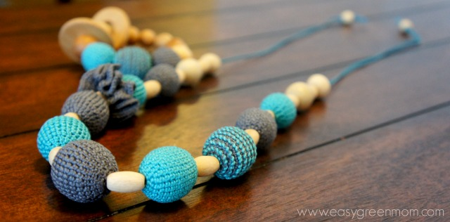 KattyMarket Handmade teething necklaces and bracelet