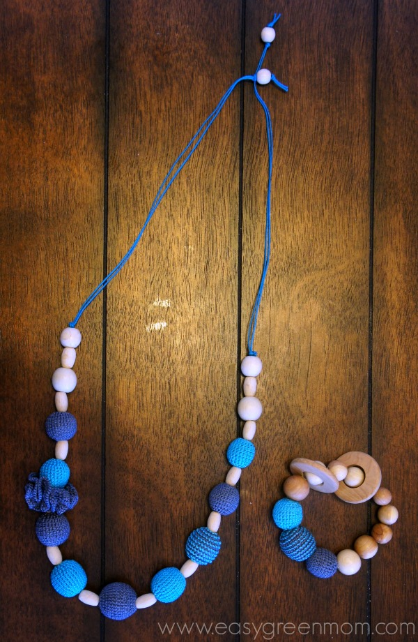 KattyMarket Handmade teething necklaces and nursing toys