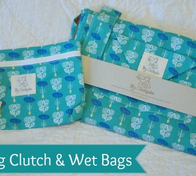 My Chickadee Changing Clutch and Wet Bag Review