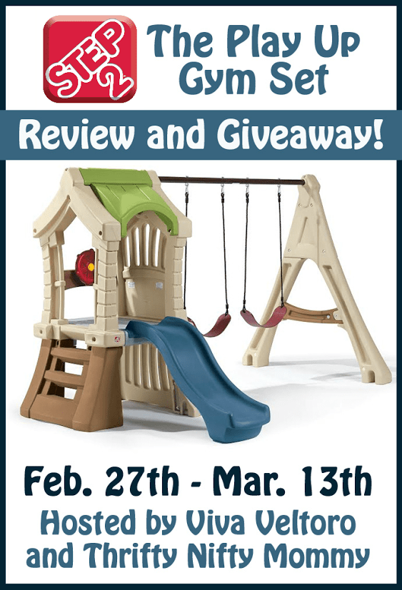 Step2 Play Up Gym Set Giveaway