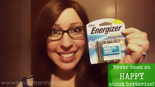 Happy about the Energizer New EcoAdvanced Batteries