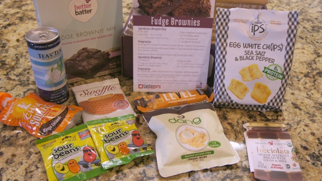 Taste Guru offers a way to discover and enjoy gluten-free products with their  box-of-the-month filled with the best tasting gluten-free-foods!