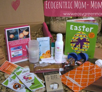 Ecocentric Mom & Baby Subscription Box ~ April 2015