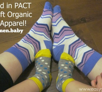 Feel Good in PACT Super Soft Organic Cotton Apparel!