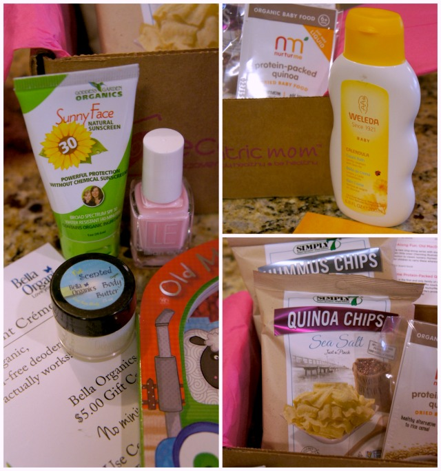 Ecocentric Mom box june products
