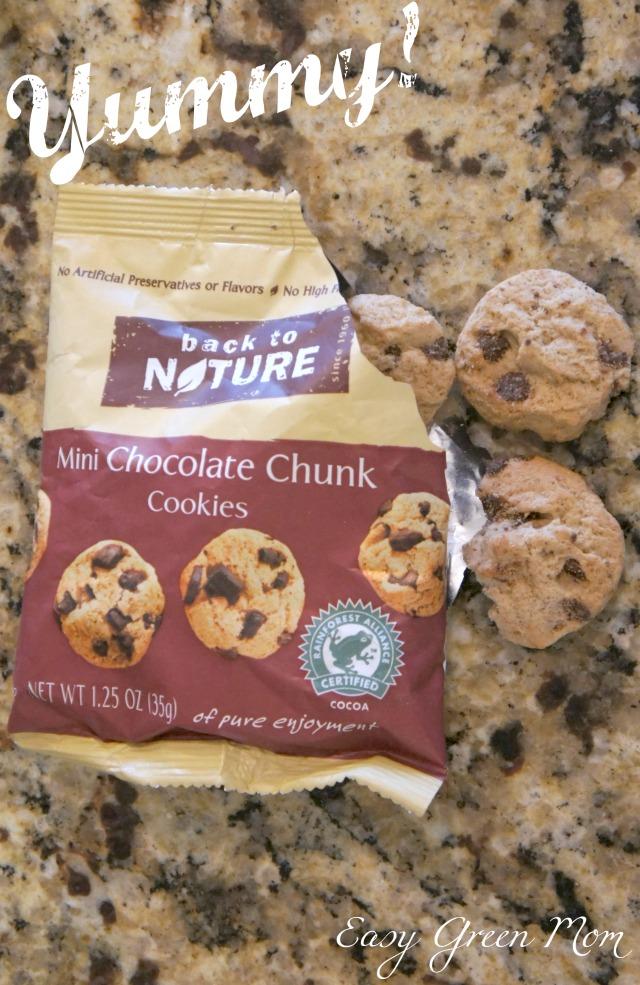 #GROweek Event Back to Nature Chocolate Chunk Cookies Sampler