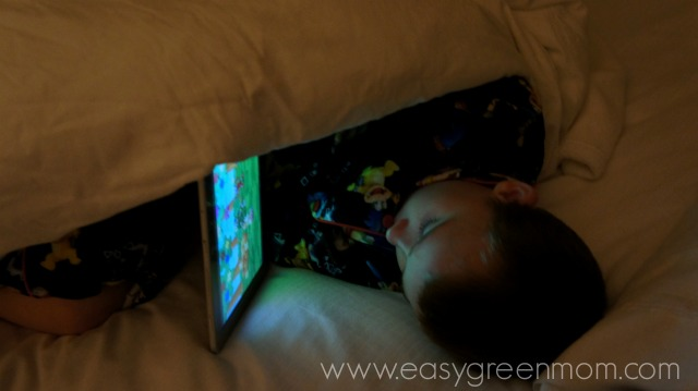 Vacationing  with our Tablet