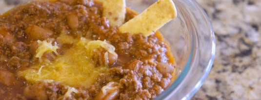 Easy Chili Recipe ~ For Chili Hot Dogs, Frito Pie or Just by Itself!