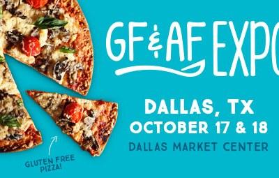 October 17 & 18 Dallas Gluten & Allergen Free Expo + Ticket Giveaways!