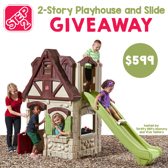 Step2 2-Story Playhouse & Slide Giveaway
