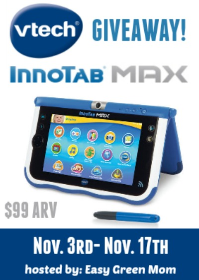 VTech InnoTab MAX Giveaway!