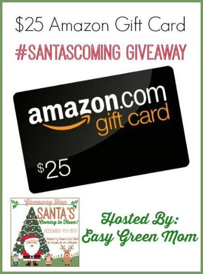 $25 Amazon Gift Card #santascoming
