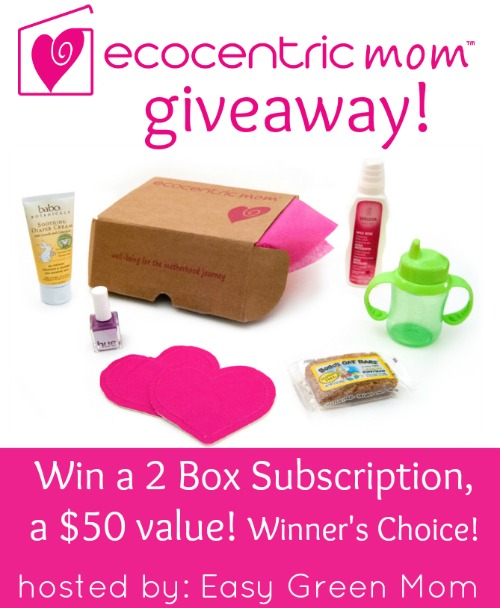 ecocentric mom box giveaway
