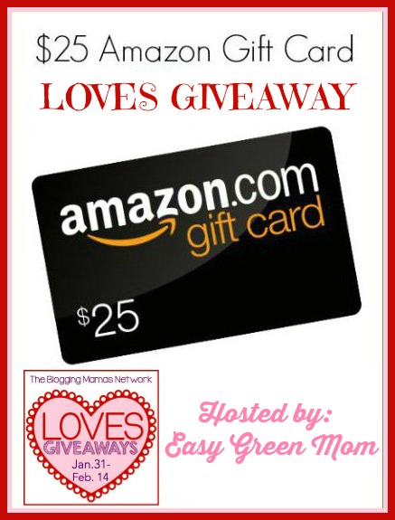 25 Amazon Gift Card LOVES Giveaway