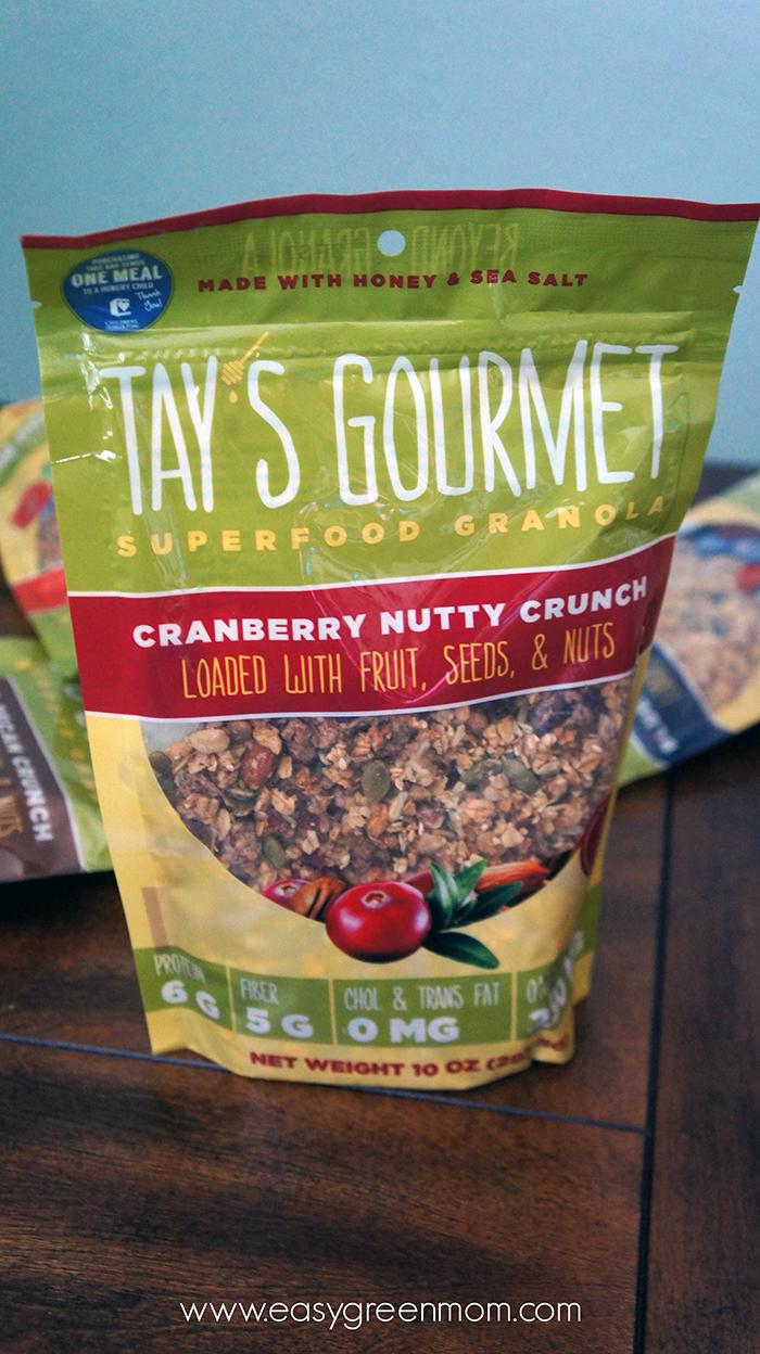 Tay's Gourmet Superfood Granola